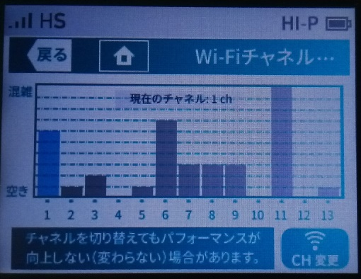 WX05WiFi使用状況1ch