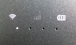 U2s バッテリーランプ
